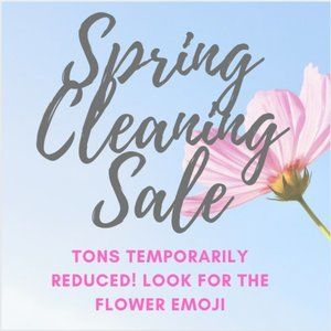 🌸SPRING CLEANING FLASH SALE🌸